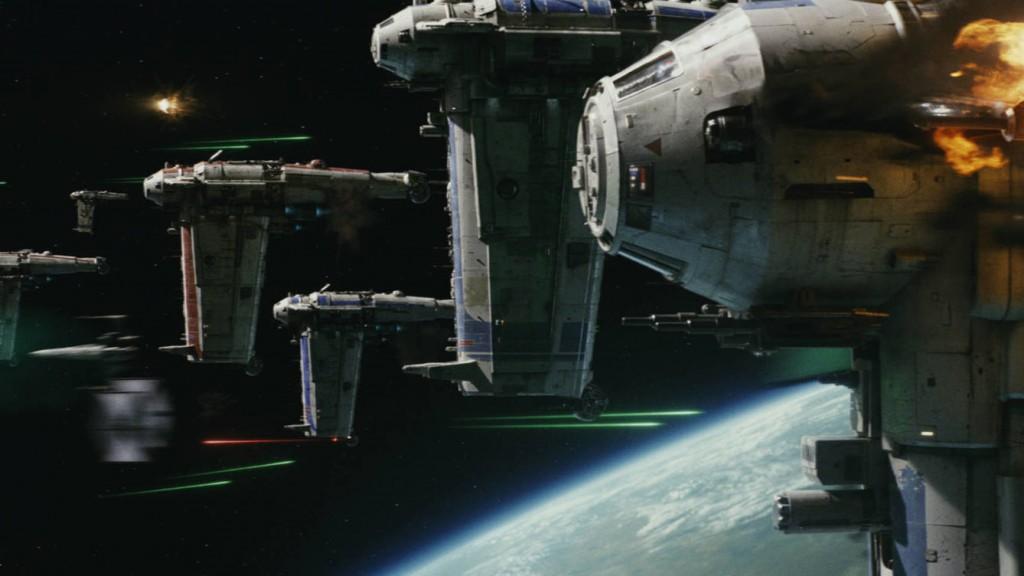 Star Wars: Los últimos Jedi.