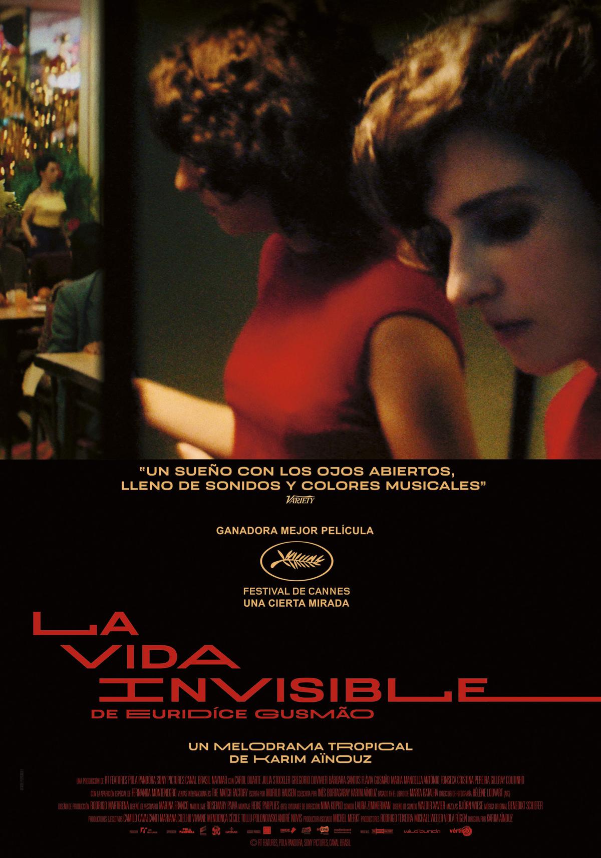 la vida invisible cartel